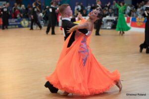 Junior- og ynglinge dansere til verdens- og europamesterskaber